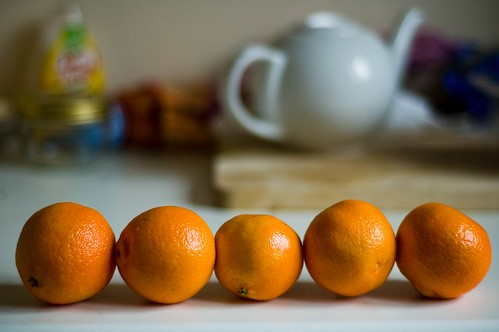 I've eaten five clementines today...