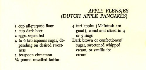 Dutch apple pancakes 1