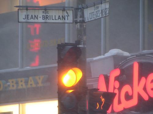 Rue Jean-Brillant & Chemin de la Côte-des-Neiges