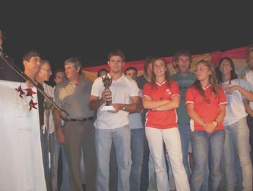 Matías bendazzi y su Hernando Pujío 2007