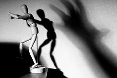 Light and Shadow-2 (Amir Maljai( )) Tags: shadow bw doll experimental d200 nikkor lightandshadow hensel removedfromnikkorfortags ikeadoll uaephotographer iranianphotographer  uaephotography dubaiphotographer dubaiphotography  persianphotographer persianphotography iranianphotography