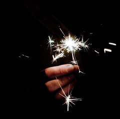 2 0 0 8 (frischmilch) Tags: night 50mm hand nightshot poland sparklers newyearseve greetings 2008 silvester f4 iso1600 feuerwerk highspeedphotography 160s