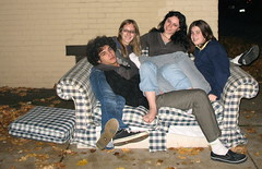 Friends...Tiago, Charlee, Aby & Leah... (Me-Shelly) Tags: up leah teenagers couch picked charlee goofballs tiago they bestfriends array aby