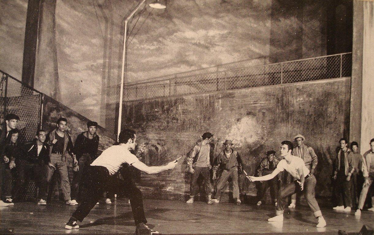 old broadway 1957 58 season pics