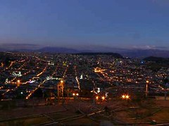 Panoramic view Quito