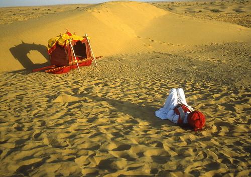 India - Jaisalmer desert music festival - Rajasthan