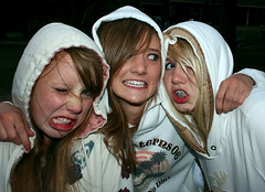 WhiteHoodedWomen (Symic) Tags: life park our 2 camp white lake 3 silly church water smile look sarah youth three hoodie emily montana day god good ministry prayer christian retreat blonde hood erica mean trio brunette tight lutheran hold jensen flathead shepard saviors gslc oslc