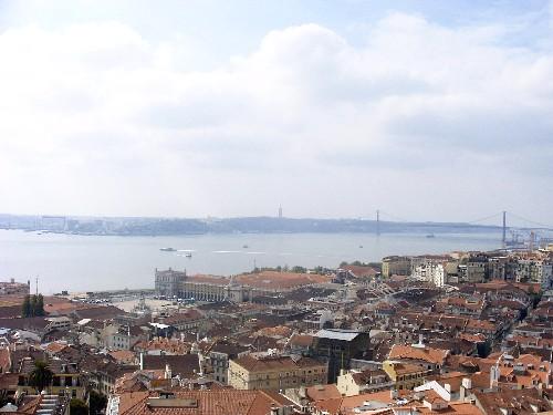 Lisboa desde el castillo de San Jorge