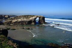 Baandose (chausinho) Tags: costa beach coast playa lugo coas ascatedrais ribadeo lascatedrales mywinners