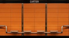 4 parallles (Pgase) Tags: orange lines station metro mtro cartier lignes photoquebec lysdor pegxpo08jol