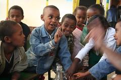 no, no, no (ellybrown) Tags: children child ethiopia desse ethiopian wollo fingerwagging dessie amhara