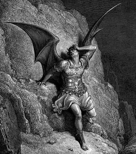 DORÉ, Gustave Lucifer 1866