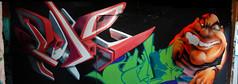 Zade Majestik (COLOR IMPOSIBLE CREW) Tags: graffiti valparaiso 2008 zade majestik fros excarcel brutalgraff