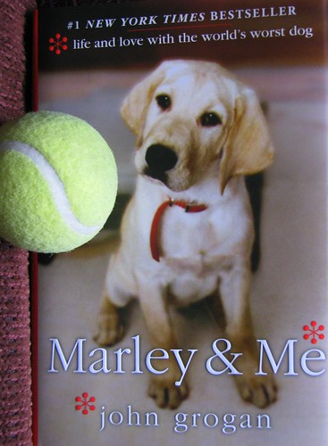 marley and me book cover. The ook was a dual biography.