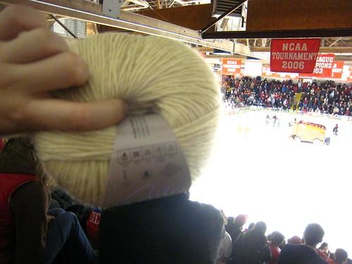 yarn at the game