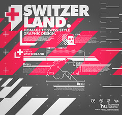 Switzer Land (_Untitled-1) Tags: poster grid typography switzerland design icons graphic swiss style land urbano humano iconography switzer