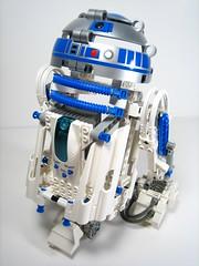 LEGO R2-D2 (WEBmikey) Tags: toys starwars lego r2d2