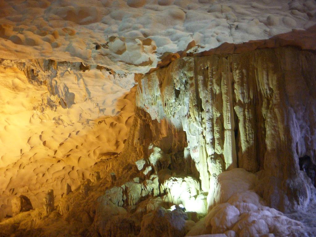En las cuevas