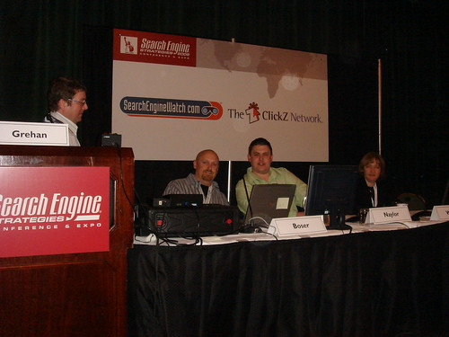 SES NY 2008 Organic Listings Forum