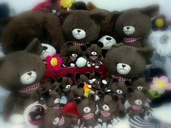 Big family (unlimited inspirations) Tags: bear family friends flower love sister brother group creative best plushies memory    unforgettable