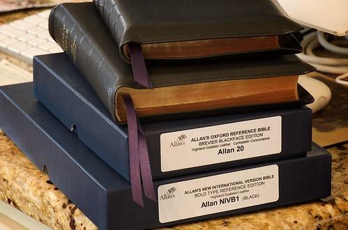 Two Allan's Bibles 1