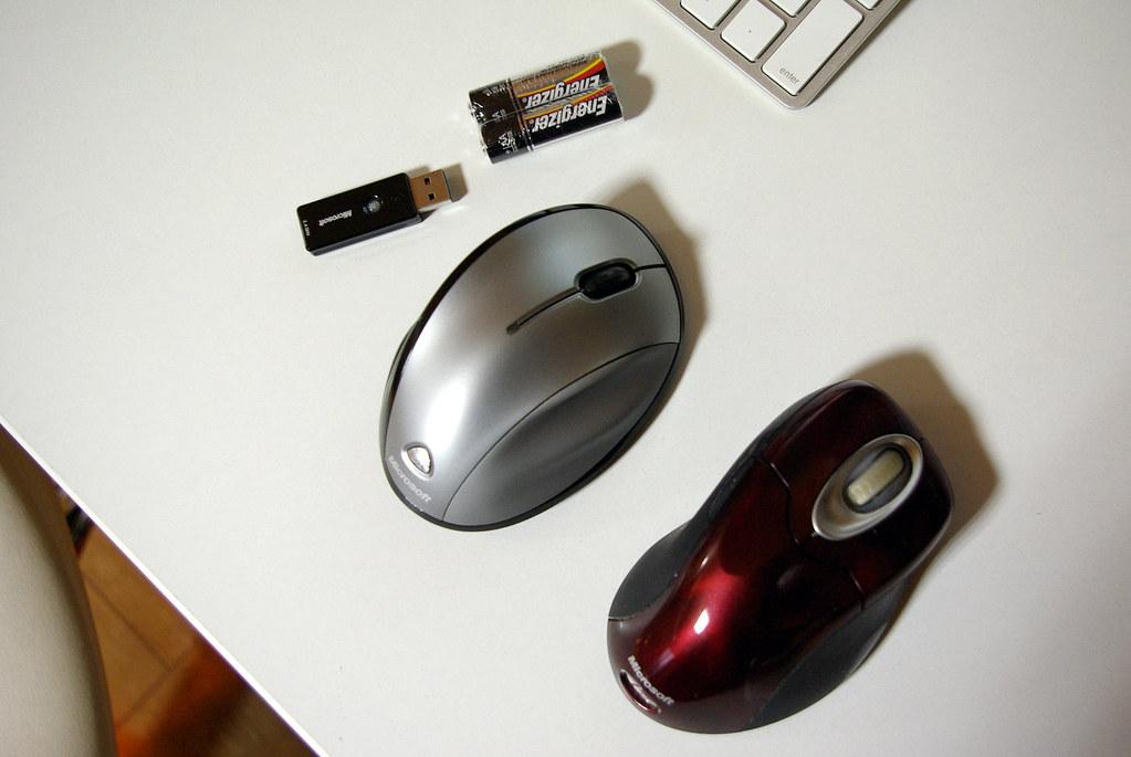 Microsoft Wireless Laser Mouse 6000