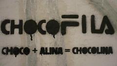 chocolina (energeticspell) Tags: street urban streetart art stencil activism bucharest choco chocolina chocofila