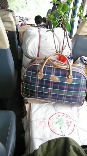 Yiwu bus, packed full