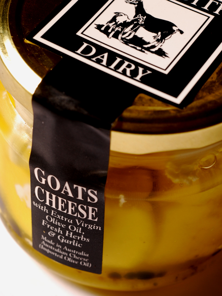 Meredith Dairy Marinated Goat Cheese ©