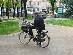 in bicicletta per Piacenza Photo