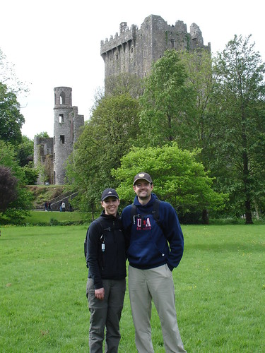 The grounds bordering Blarney Castle.