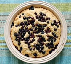 blueberry buttermilk cake! (thebakingbird) Tags: cake baking lemon blueberries buttermilk applesforjam
