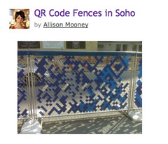 QR Code Fences in Soho | PSFK - Trends, Ideas & Inspiration_1216936049298