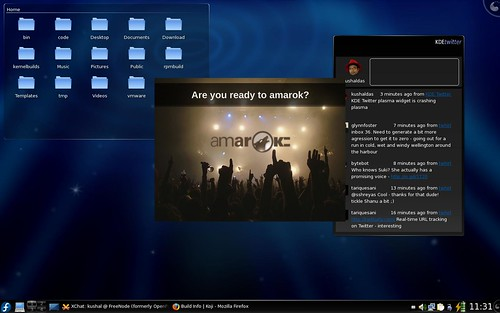 Amarok 2 Beta splash screen