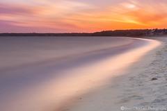 Magenta (Vintus Okonkwo fotografi) Tags: craigville beach magenta sunset capecod massachusetts dramatic sky long exposure sand cloud wavy smooth evening explore outdoor landscape
