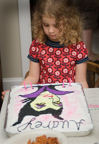 the maleficent cake was a hit