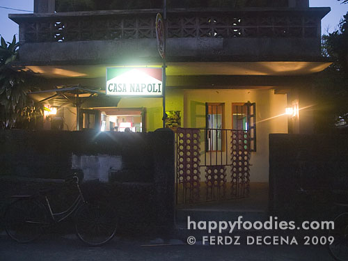 Casa Napoli restaurant at Abad Street, Basco