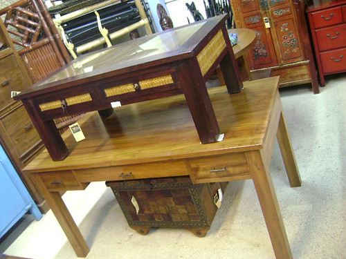 Teak Bamboo Coffee Tables Honolulu - WorldWide Furnishings 970 Queen St Honolulu Hawaii 96814: (Diamond Head Side of Ward) Open Monday-Sunday 10am-6pm Stop by or Call 808-593-2127