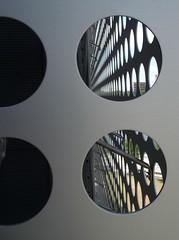 Modern Art (Barefoot In Florida) Tags: art architecture tampa florida circles walls museums tampamuseumofart