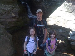 Me and the Girls at Raven Cliffs Falls