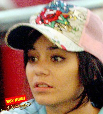 Vanessa Hudgens (high school musical) wears ed hardy cap