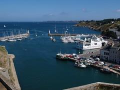 Citadelle Le Palais à Belle ile (ja-lo) Tags: port bleu vauban citadelle guedel