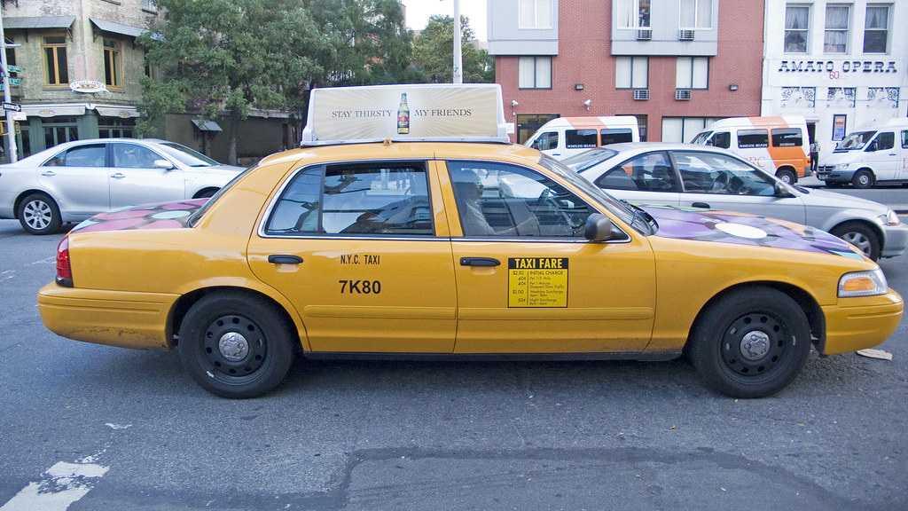 Old Taxi Design Clear