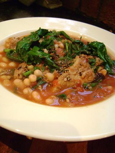 Lamb, Bean & Kale Stew