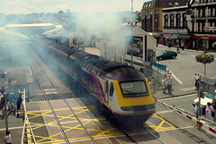 First Great Western HST Paignton (kpmarek) Tags: uk greatbritain england train unitedkingdom rail railway devon gb firstgreatwestern paignton hst highspeedtrain greatwestern englishriviera 43137 paigntonrailwaystation