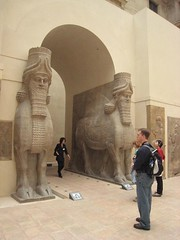 Paris, France (dbray46) Tags: city david paris france archaeology museum french ancient europa europe european louvre cities artifact archaeological artifacts 2007 assyria wingedbull assyrian sargon