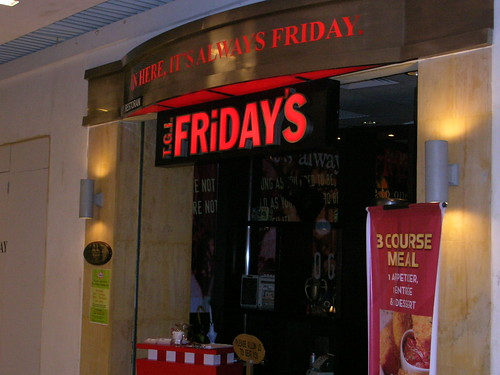 TGI Friday's, Queensbay