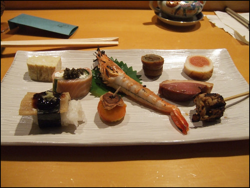 Kappa (San Francisco) - Collection of appetizers
