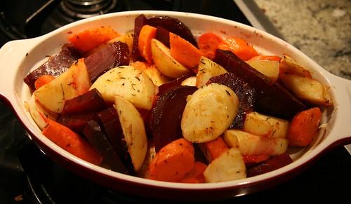 winter root veges