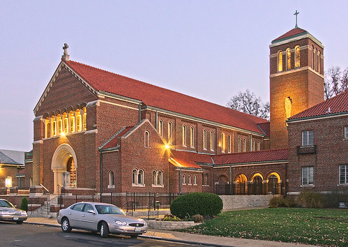 Our Lady of the Presentation Roman Catholic Church, in Overland, Missouri, USA - exterior.jpg